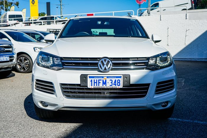 2014 Volkswagen Touareg V6 TDI 7P MY14 Four Wheel Drive Pure White