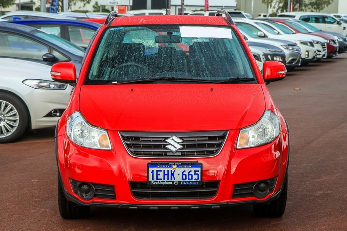 2013 Suzuki SX4 Crossover Navigator GYA MY13 Red
