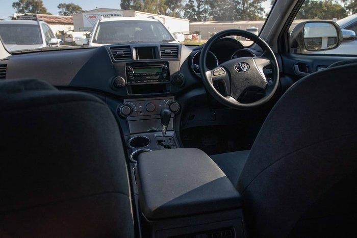 2008 Toyota Kluger KX-R GSU40R White