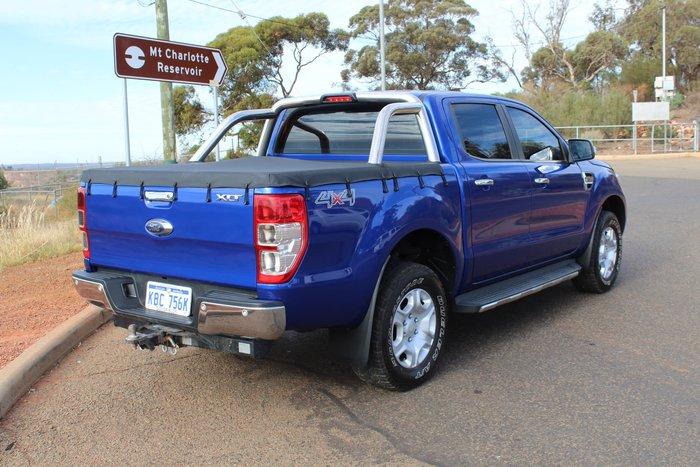 2015 Ford Ranger XLT PX MkII 4X4 Dual Range Aurora Blue