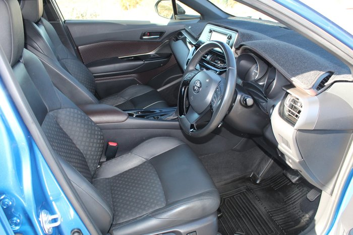 2017 Toyota C-HR Koba NGX10R Tidal Blue with White Roof