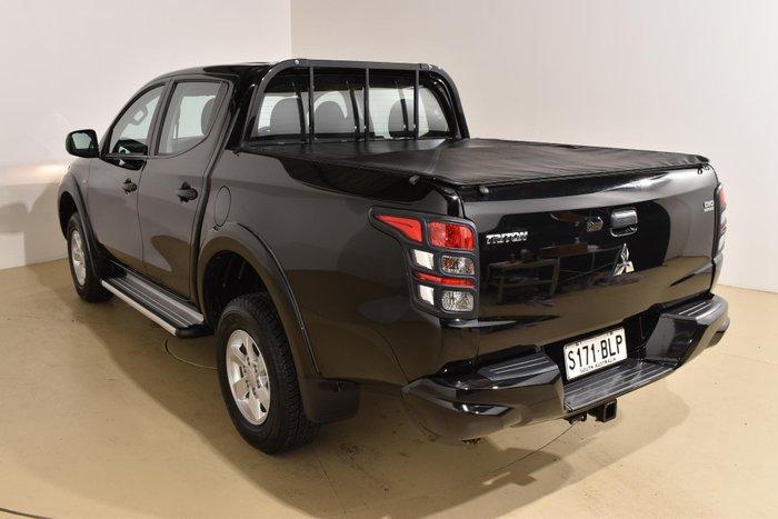 2016 Mitsubishi Triton GLX+ MQ MY16 4X4 Dual Range Black