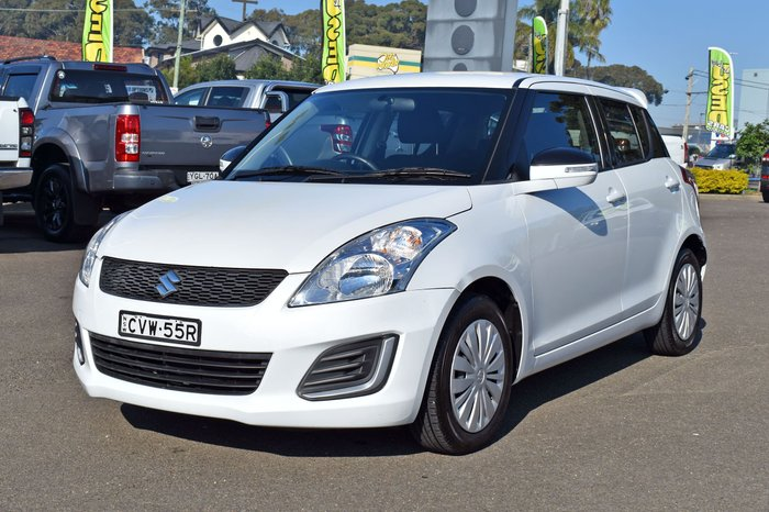 2014 Suzuki Swift GL FZ MY14 Snow White