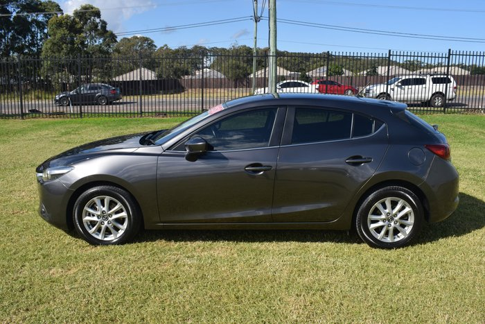 2018 Mazda 3 Maxx Sport BN Series Machine Grey