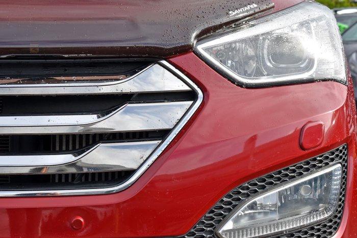 2014 Hyundai Santa Fe Highlander DM2 MY15 4X4 On Demand Red Merlot