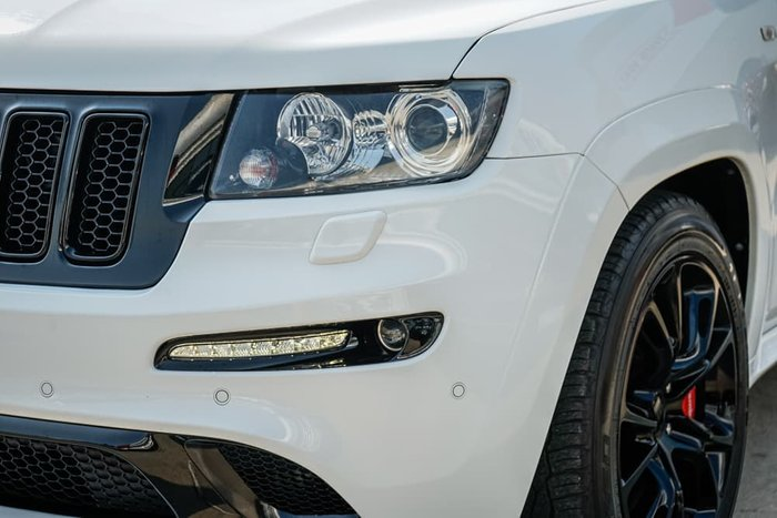 2012 Jeep Grand Cherokee SRT-8 Alpine WK MY13 4X4 On Demand Bright White