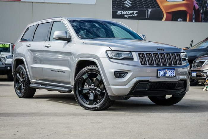 2014 Jeep Grand Cherokee Blackhawk WK MY14 4X4 Dual Range Billet Silver