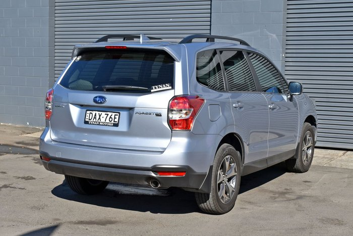 2015 Subaru Forester 2.5i-L Special Edition S4 MY15 AWD Ice Silver