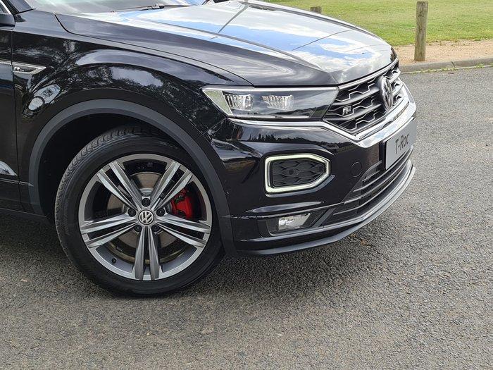 2021 Volkswagen T-Roc 140TSI Sport A1 MY21 Four Wheel Drive Deep Black Pearl