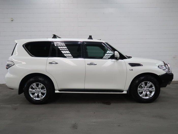 2016 Nissan Patrol Ti Y62 Series 3 4X4 Dual Range White