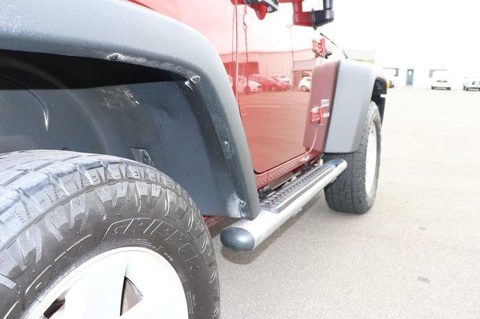 2008 Jeep Wrangler Sport JK 4X4 Maroon