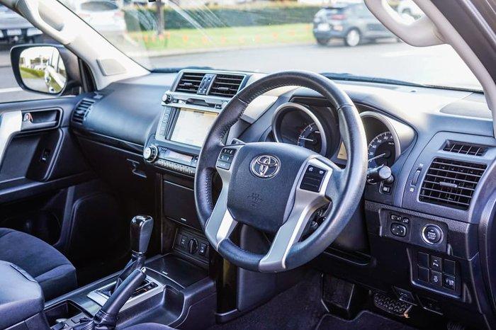 2017 Toyota Landcruiser Prado GXL GDJ150R 4X4 Dual Range Black