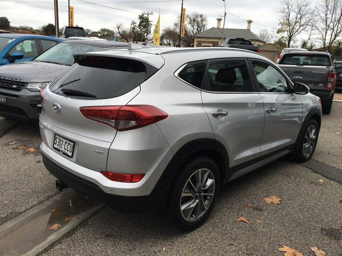 2017 Hyundai Tucson Elite TLe MY17 AWD Platinum Silver