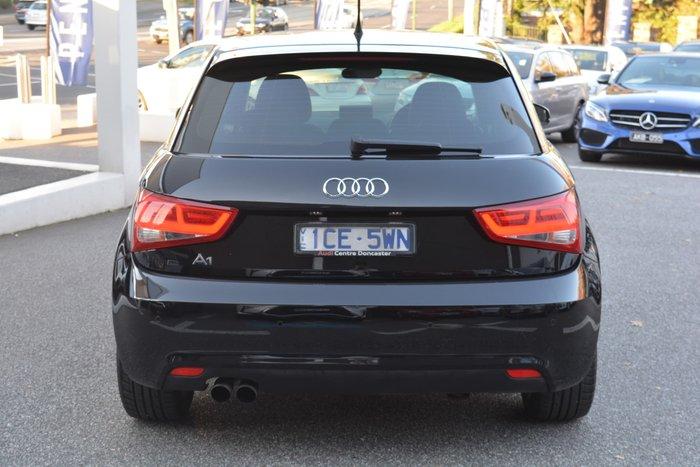 2014 Audi A1 Attraction 8X MY14 Brilliant Black