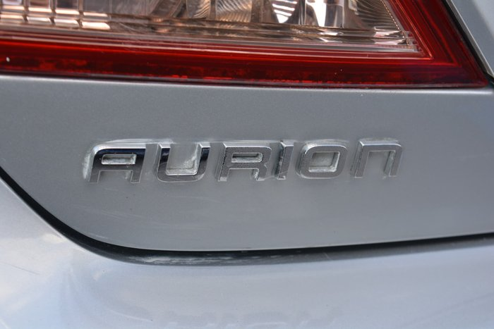 2007 Toyota Aurion AT-X GSV40R Silver