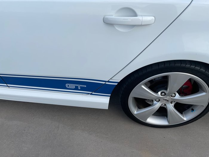 2009 Ford Performance Vehicles GT FG Winter White