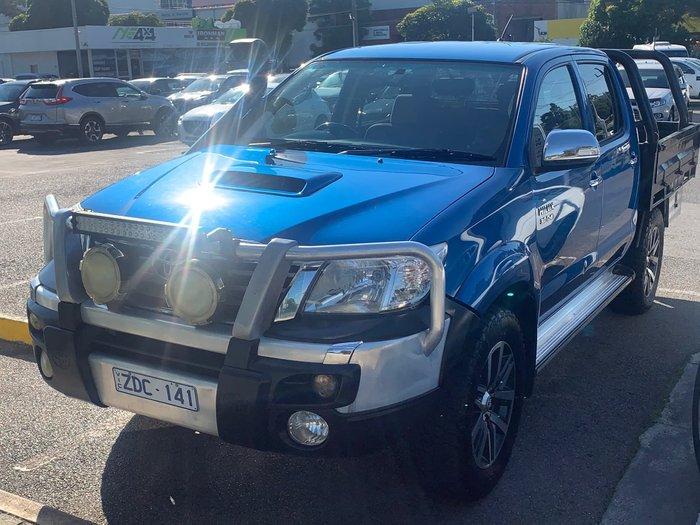 2012 Toyota Hilux SR5 KUN26R MY12 4X4 Tidal Blue