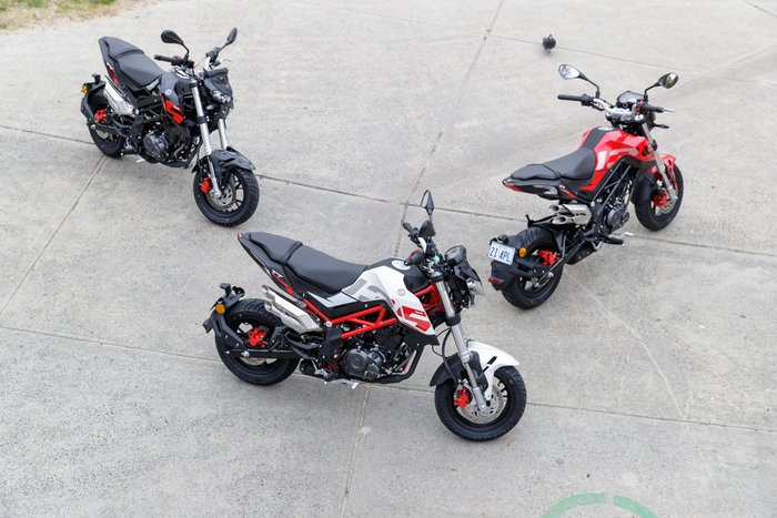 2020 Benelli TNT 135 TNT Green; Black; Red or White