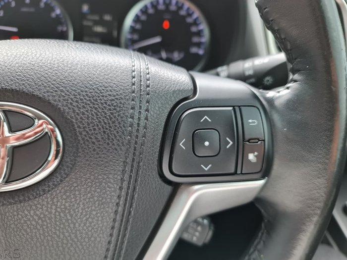 2017 Toyota Kluger GXL GSU50R Grey