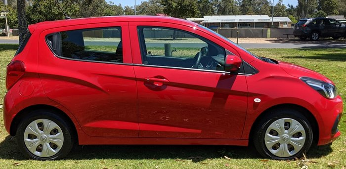 2018 Holden Spark LS MP MY18 Absolute Red