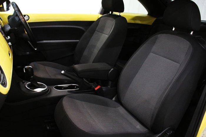 2013 Volkswagen Beetle 1L MY14 Yellow
