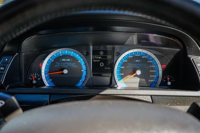 2011 Ford Falcon Ute XR6 Turbo FG Blue