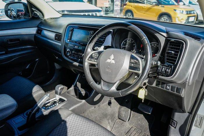 2014 Mitsubishi Outlander LS ZJ MY14.5 White