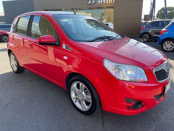 2009 Holden Barina TK MY10 Red