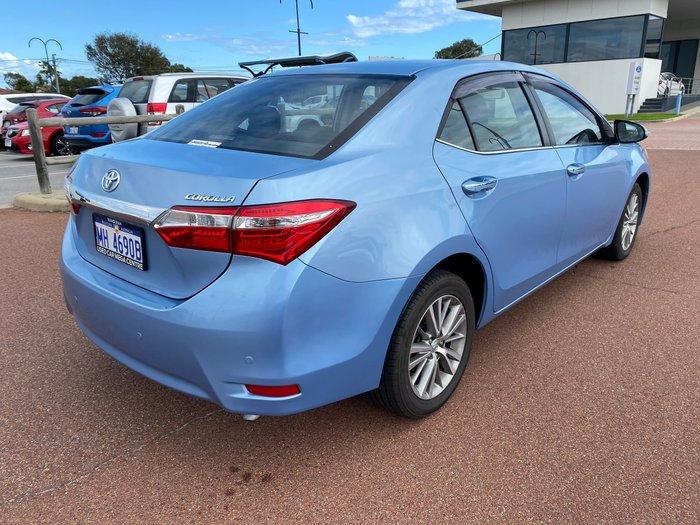 2014 Toyota Corolla SX ZRE172R Blue Mist