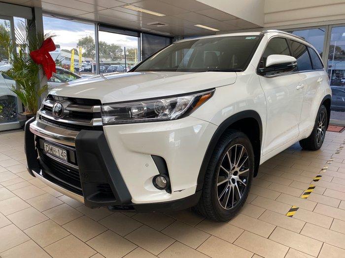 2017 Toyota Kluger Grande GSU55R AWD White Pearl