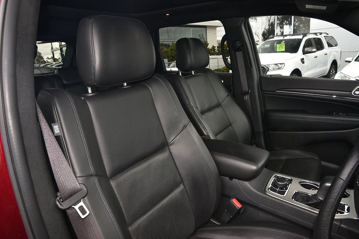 2018 Jeep Grand Cherokee Limited WK MY18 4X4 Dual Range Red