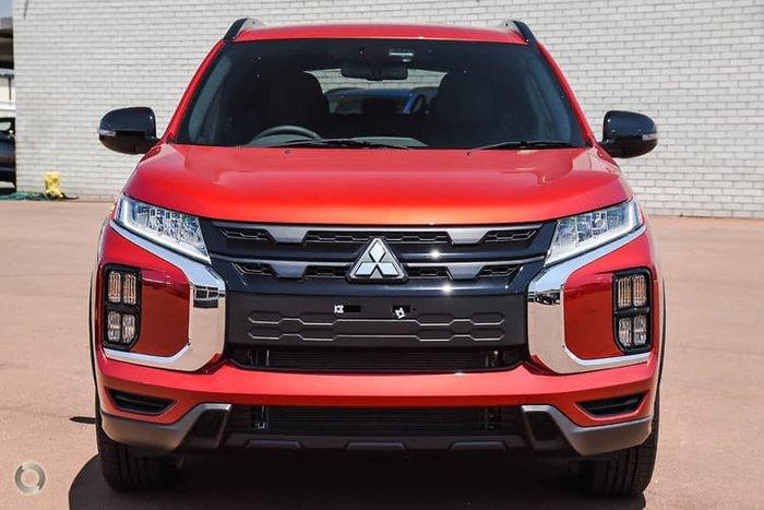 2021 Mitsubishi ASX GSR XD MY21 Red Diamond