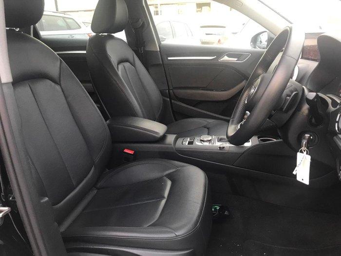 2019 Audi A3 35 TFSI 8V MY19 Brilliant Black