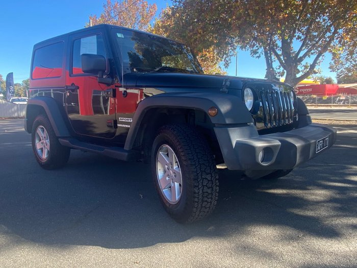 2015 Jeep Wrangler X JK MY15 4X4 Dual Range Black