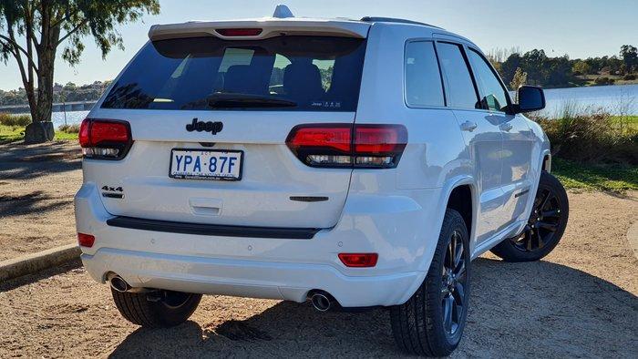 2021 Jeep Grand Cherokee Night Eagle WK MY21 4X4 Dual Range Bright White