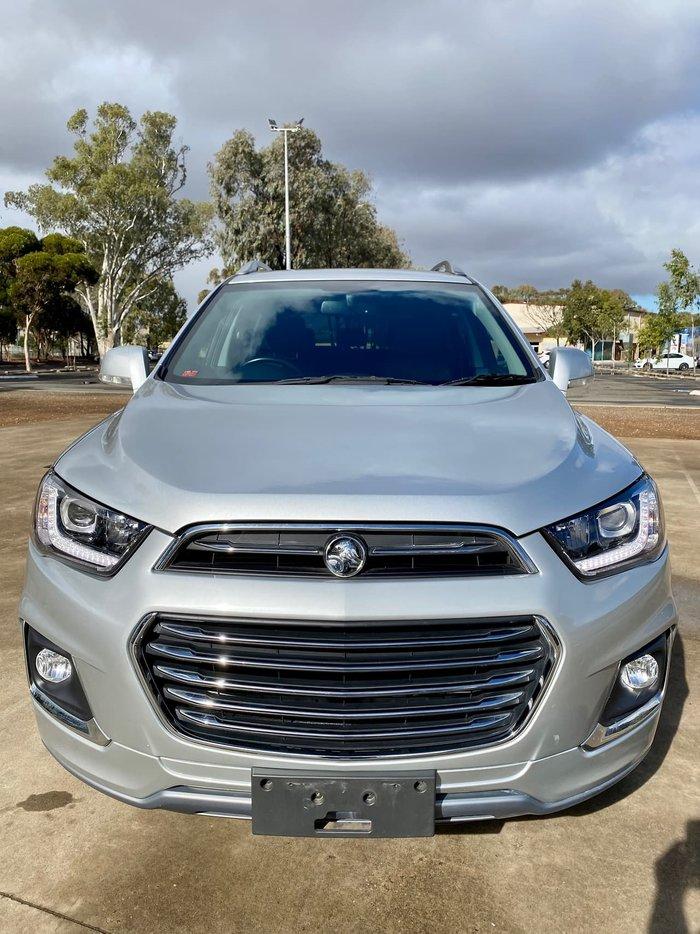 2017 Holden Captiva LTZ CG MY17 AWD Silver
