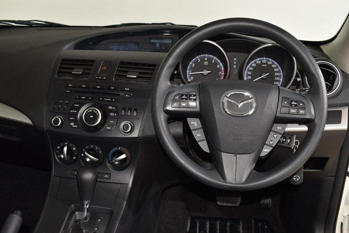 2013 Mazda 3 Neo BL Series 2 MY13 Crystal White Pearl