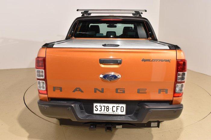 2017 Ford Ranger Wildtrak PX MkII 4X4 Dual Range Pride Orange