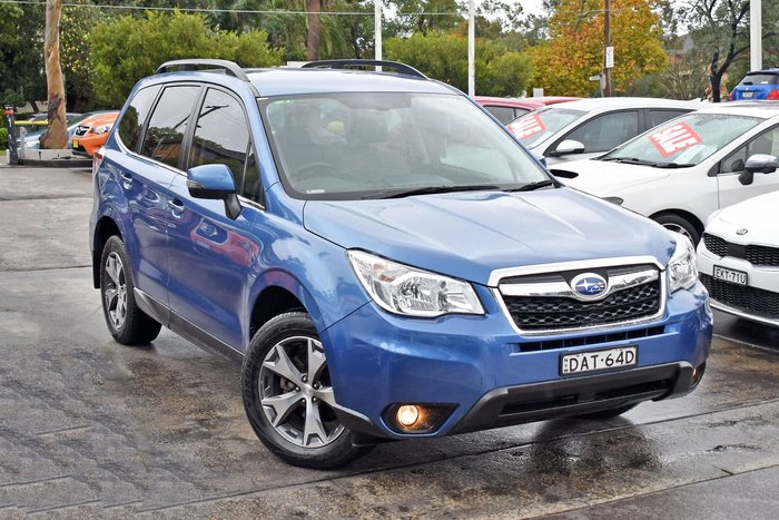 2015 Subaru Forester 2.5i-L Special Edition S4 MY15 AWD Blue
