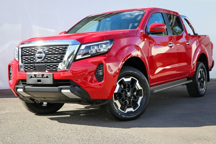 2021 NISSAN NAVARA ST-X D23 MY21 BURNING RED