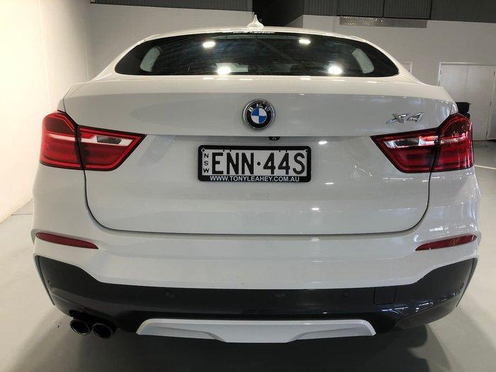 2015 BMW X4 xDrive35i F26 4X4 Constant White