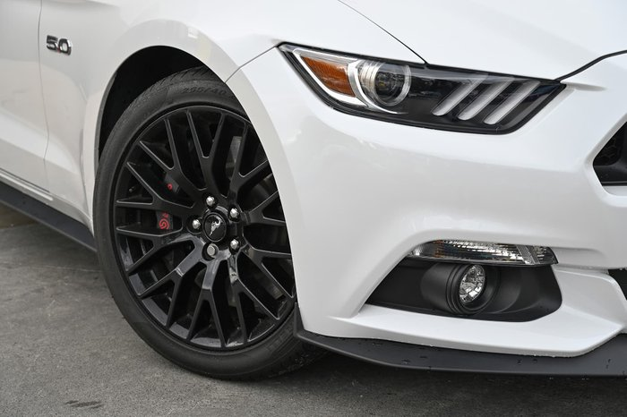 2017 Ford Mustang GT FM MY17 Platinum White