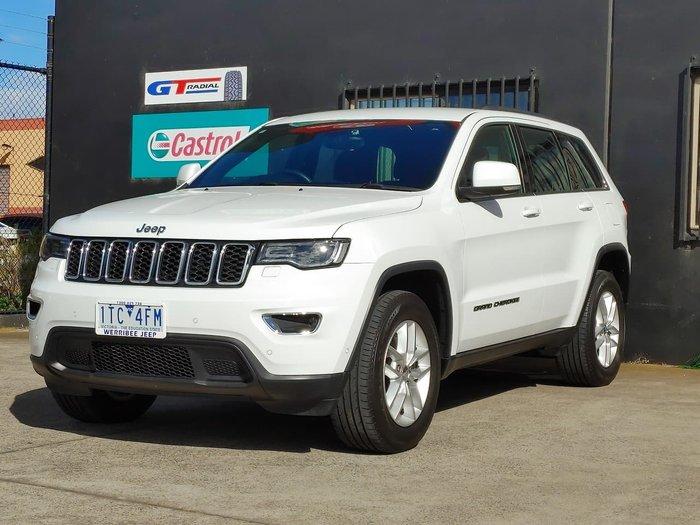 2017 Jeep Grand Cherokee Laredo WK MY17 White