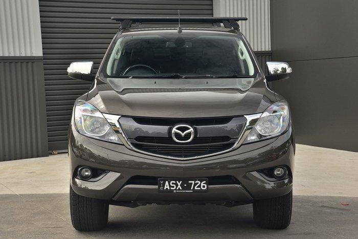 2018 Mazda BT-50 GT UR 4X4 Dual Range Titanium Flash