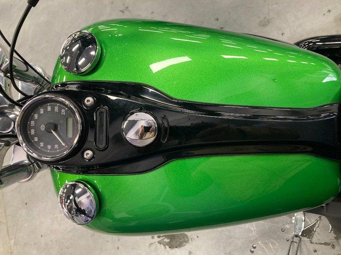 2015 Harley-davidson FXDWG WIDE GLIDE Green