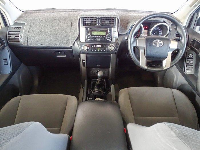 2012 Toyota Landcruiser Prado GX KDJ150R 4X4 Constant Blue Storm