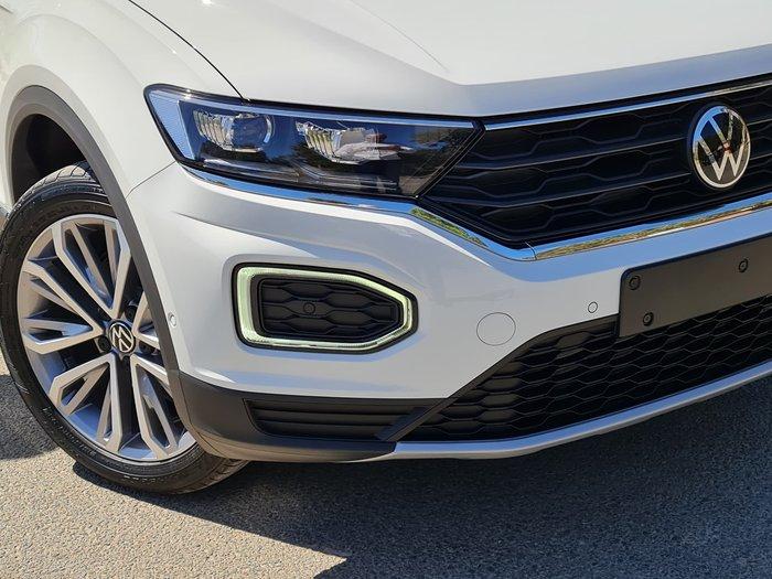 2021 Volkswagen T-Roc 110TSI Style A1 MY21 Pure White