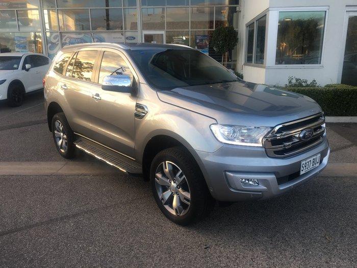 2017 Ford Everest Titanium UA MY18 4X4 Dual Range Aluminium
