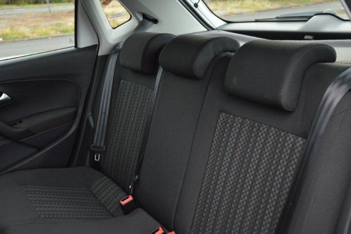 2014 Volkswagen Polo 66TSI Trendline 6R MY15 WHITE