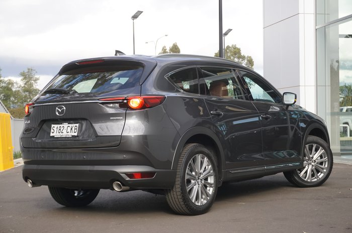 2021 Mazda CX-8 Asaki KG Series Machine Grey